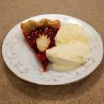Strawberry Pie à la Mode