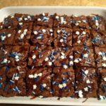 Snowflake Brownies